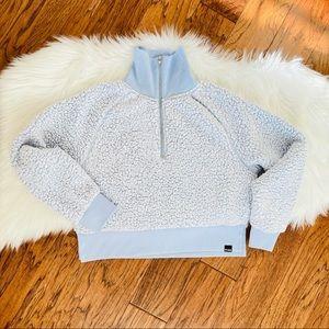 PINK Victoria's Secret Pullover Sherpa Half Zip